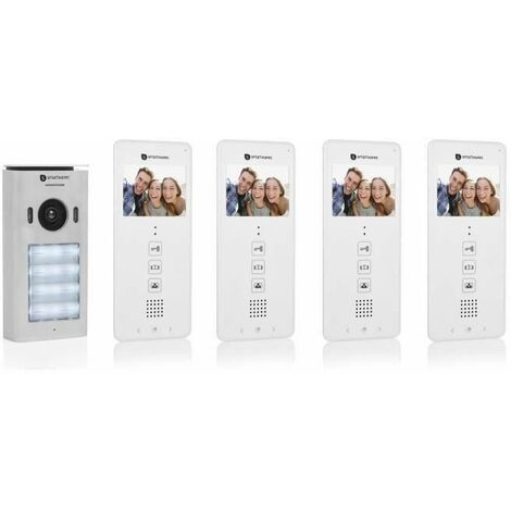 "main image of ""Smartwares DIC-22142 Video intercom system for 4 apartments"""