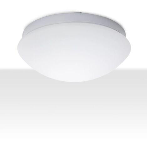 Smartwares Lámpara de techo con sensor movimiento 60 W blanca 5000.438