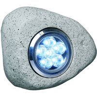 Smartwares LED Rock Garden Lights 3 pcs 2,7 W Grey RS306