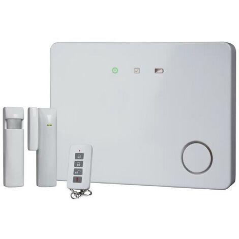 SMARTWARES Pack alarme maison GSM connectée évolutive sans fil HA701IP