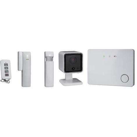 SMARTWARES Pack alarme maison GSM connectée évolutive sans fil HA701SL-IC