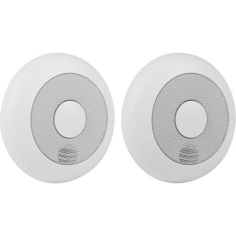 Smartwares RM175RF/2 10.040.95 Funk-Rauchwarnmelder 2er Set vernetzbar batteriebetrieben X830061