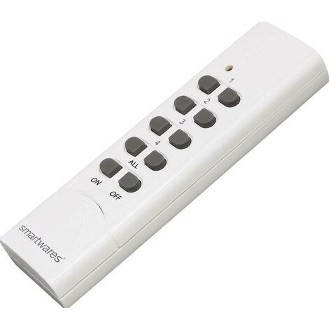 Smartwares SH5-TDR-F Smartwares SmartHome Basic sans fil Télécommande Y004371