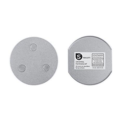 Smartwares Universal Magnethalterung für Rauchwarnmelder, Ø 7 cm