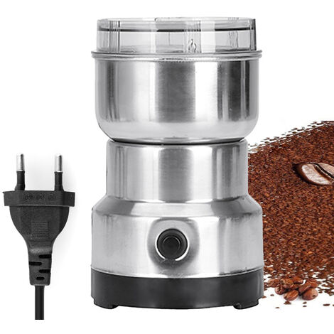 Smash Machine Electrique Cereales Grains Moulin A Epices Herbes Pulverizer Grinding Machine Tool Bean En Acier Inoxydable A Cafe Electrique Grinder