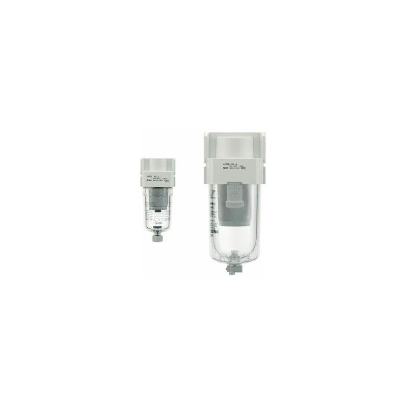 SMC 120 L/Min 0 7Mpa Mist Separator, G 1/4, 0 01Um 1/4 In G, -5 To +60C