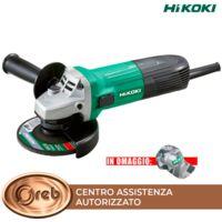 Smerigliatrice hitachi hikoki g12sta 600w disco 115mm 12000 rpm