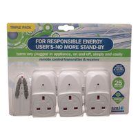 SMJ Remote Socket Triple Pack
