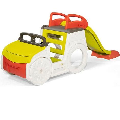 SMOBY - Adventure Car - Multi-activités