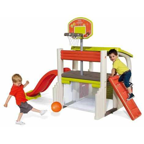 Smoby Children Kids Sports Multi-Activity Fun Centre Play Set Slide Picnic Table