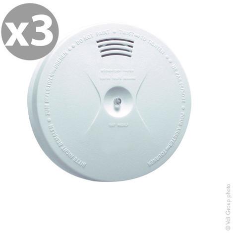 Smoke alarm 3-pack CE MB-SA01
