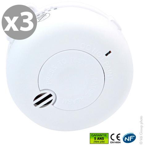 Smoke alarm - 3 pack - NF BRK SA410