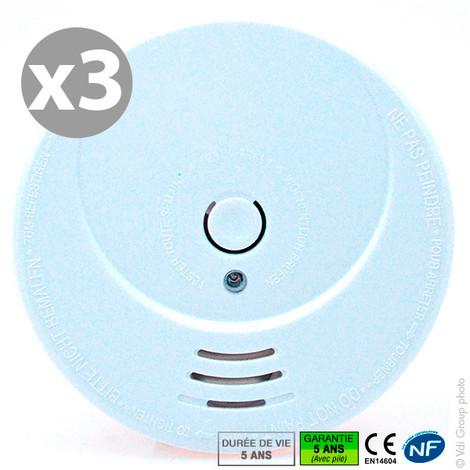 Smoke alarm - 3 pack - NF SITER HS506