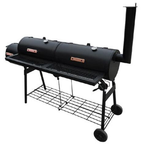 Smoker BBQ Nevada XL Black