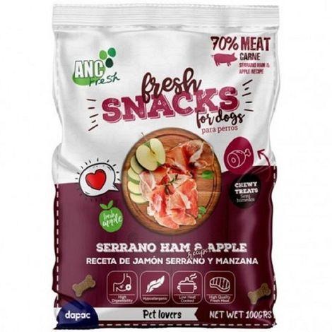 Snack para Perros ANC FRESH JAMÓN IBÉRICO 70% Carne - Bolsa 100gr
