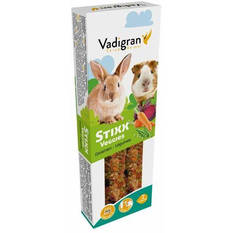 Snack stixx lapin&cobaye veggies 115g(2)
