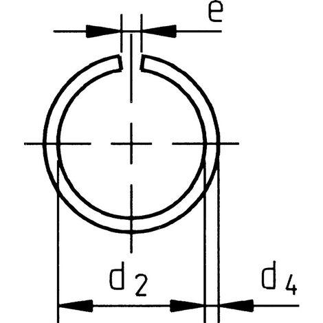 Snap Ring - Metric - Spring Steel - DIN 7993 A
