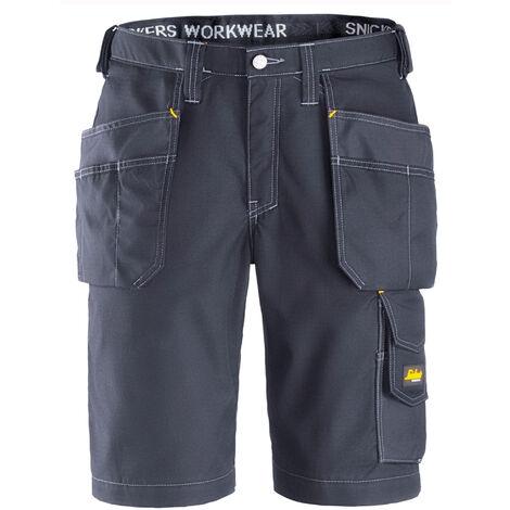 Snickers Mens Craftsmen Ripstop Holster Pocket Shorts