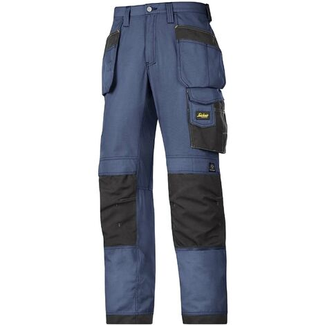 Snickers Mens Ripstop Workwear Trousers