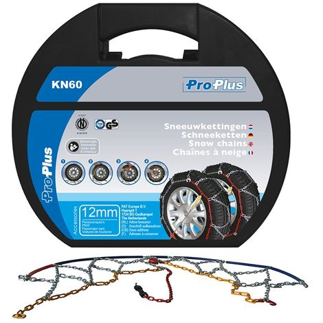Snow chains 12mm KN60