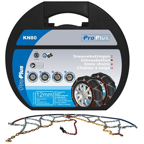 Snow chains 12mm KN80