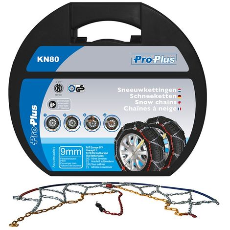Snow chains 9mm KN80