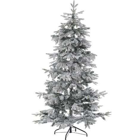 Snowy Christmas Tree 180 cm White TOMICHI