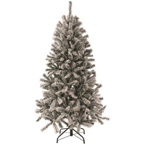 Snowy Virginia Pine Christmas Tree - 624 Tips - 1.8 Meter (6 Foot)