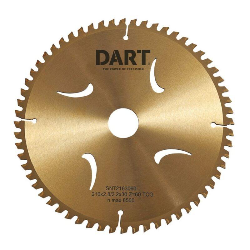 Image of Dart SNT2503080 Gold TCG Alu Saw Blade 250DMMX30BX80Z