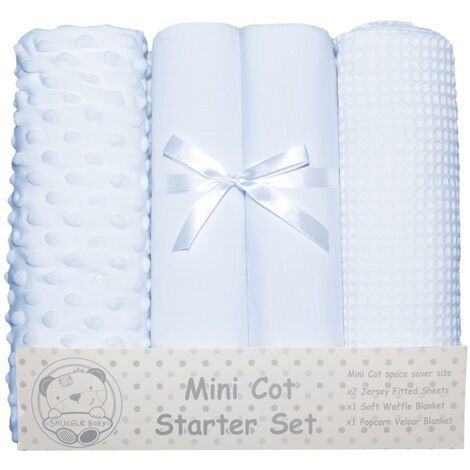 Snuggle Baby Mini Cot Starter Set (4 Pieces)