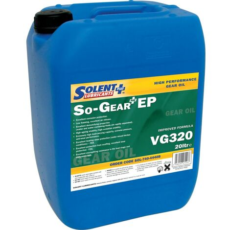 So-Gear Plus EP High Performance Gear Oils