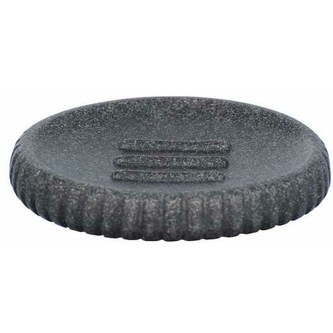Soap dish Cantaloup anthracite WENKO