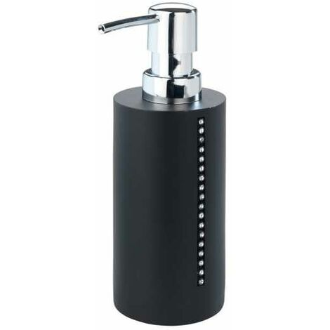 Soap dispenser Diamond Black WENKO