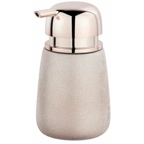 Soap dispenser Glimma rosé WENKO