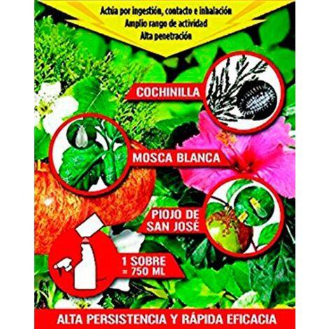sobre de Insecticida Fungicida para Cochinillas, Mosca Blanca.....
