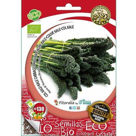 """Sobre Semilla ECO Col Kale """"Nero Di Toscana""""- 0.6g"""