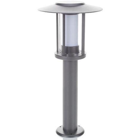 Sobremuro LED Gregory gris