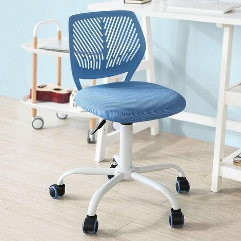 SoBuy Adjustable Swivel Office Chair Desk Chair Study Chair,FST64-BL