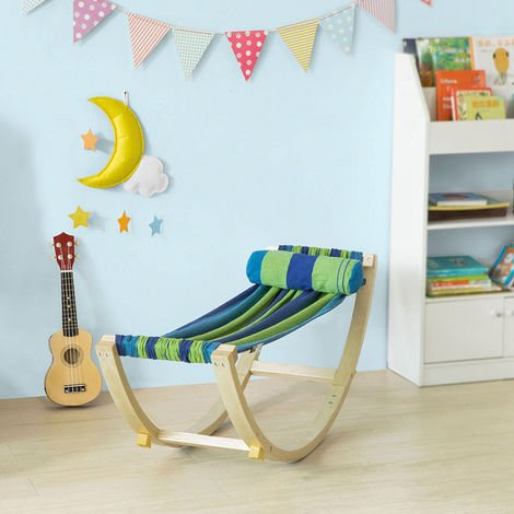 SoBuy Children Kids Rocking Hammock Bench Rocking Chair KMB16-J