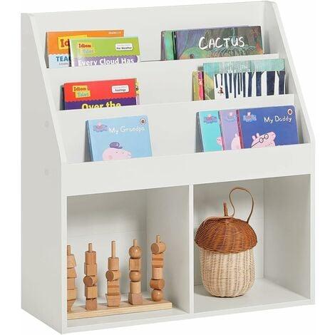 "main image of ""SoBuy Children's storage Book Shelf Storage Display Rack Holder,KMB01-W"""