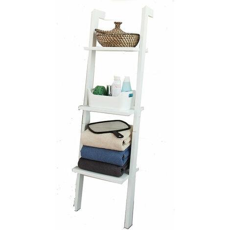 SoBuy® Estanterias librerias,Estanterias de diseño,Estantería de pared,negro,3 estantes, FRG32-SCH, ES