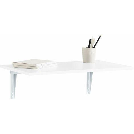 SoBuy FWT21-W,ES Mesa de cocina, mesa plegable de pared ...