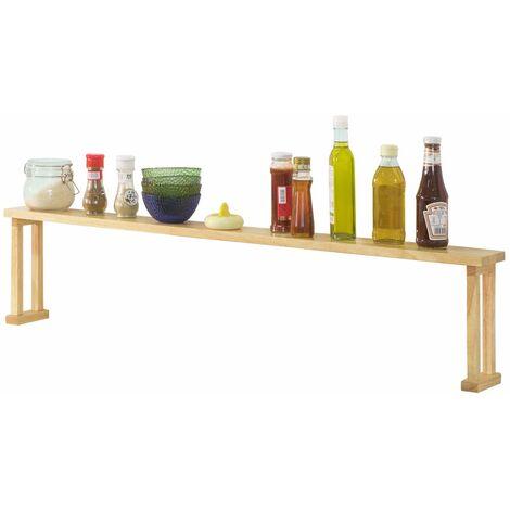 SoBuy KCR01-N,Estantes para especias de madera,Organizador de Especias,L111 cm,ES