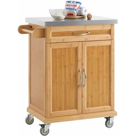 Sobuy Kitchen Storage Cabinet Kitchen Island Trolley