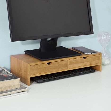 SoBuy Monitor Stand Computer Screen Stand Table,FRG198-N