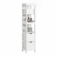 SoBuy® Mueble columna de baño 8b26bd5830a9