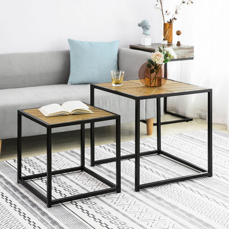 So Nesting Tables Set Of 2 Coffee Side End