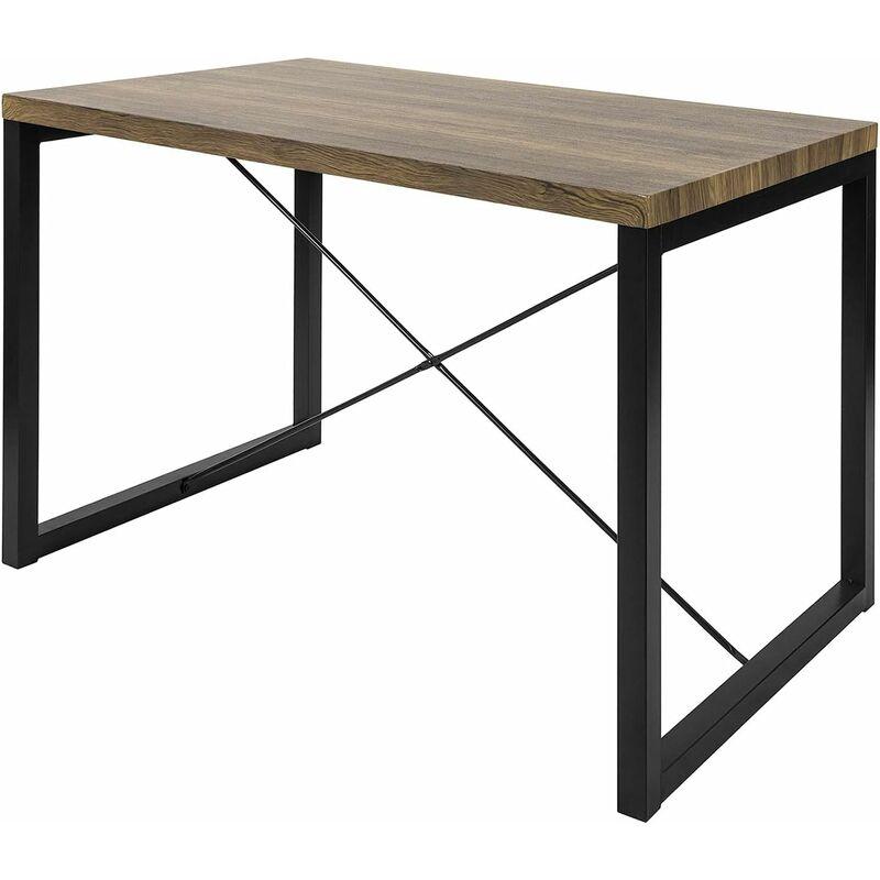 OGT20-N Esszimmertisch Esstisch Küchentisch Holztisch Metall im Industrial-Look - Sobuy