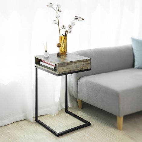 Fantastic Sobuy Side Table End Table Coffee Table Bed Sofa Side Table Ibusinesslaw Wood Chair Design Ideas Ibusinesslaworg
