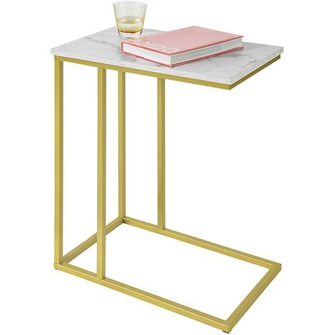 SoBuy Side Table End Table,Bed Sofa Side Table Laptop Table,FBT87-G